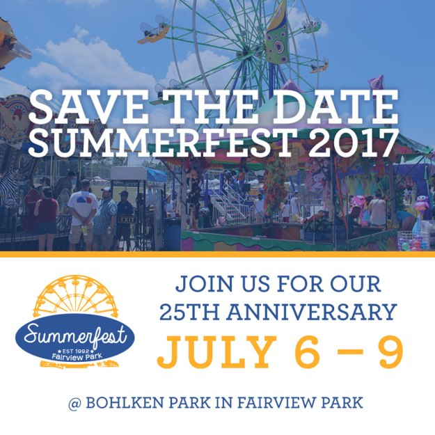Fairview Park Summerfest 2017
